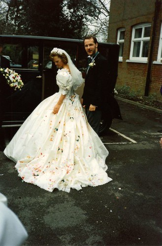 wedding dress in 2007