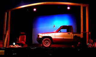 The Red Truck, by James O'Shea | by Eric Eggertson