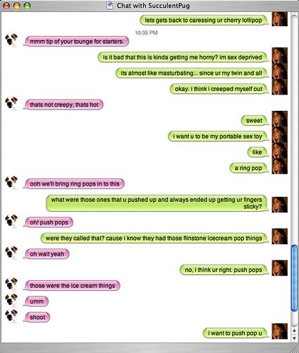 Naughty chatting