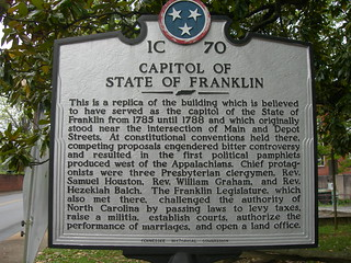 State of Franklin Capitol Historic Marker | by jimmywayne