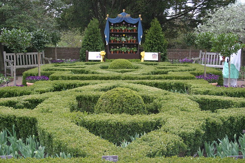 Evergreen boxwood parterre the new york botanical garden for Parterre 3d