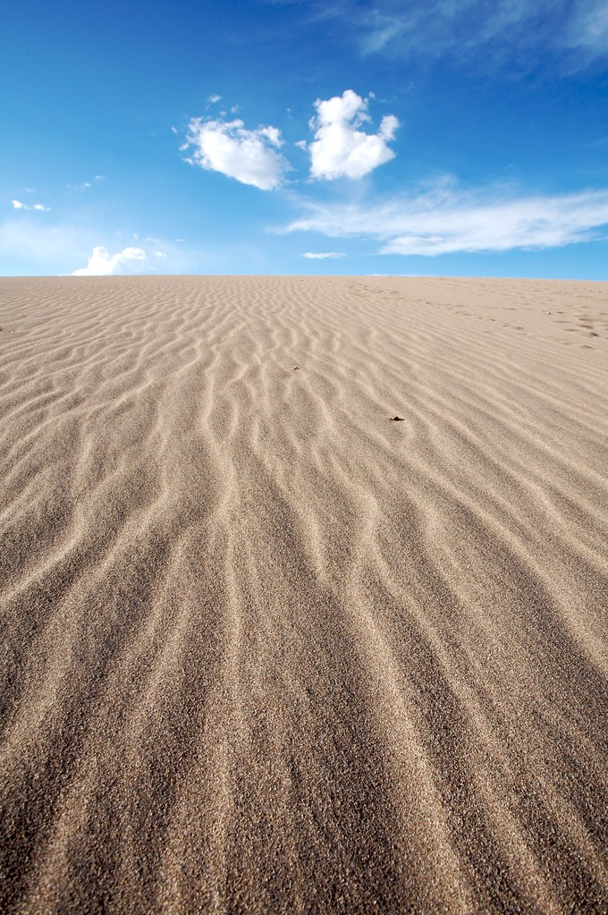 Sand And Sky Great Sand Dunes Colorado Buzz Andersen