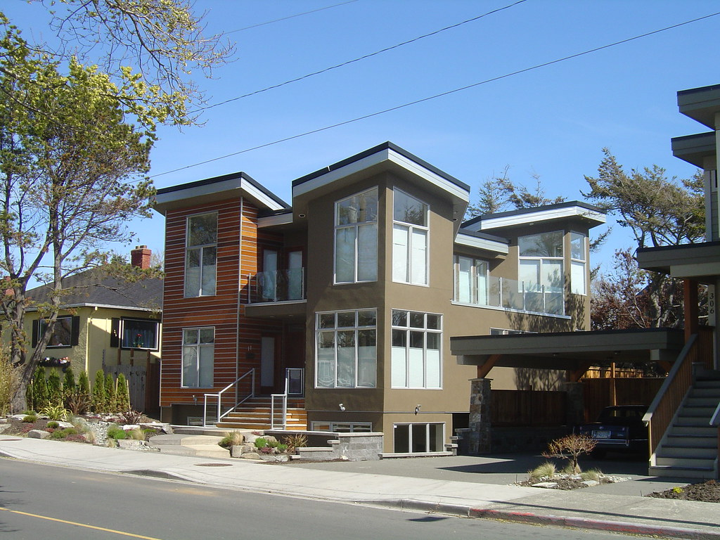 Modern home in victoria bc this is a new house in the for Architectural concepts inc jackson ms