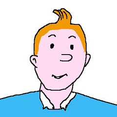 Badly Drawn Tintin - Celebrating Georges Prosper Remi | by msmiffy