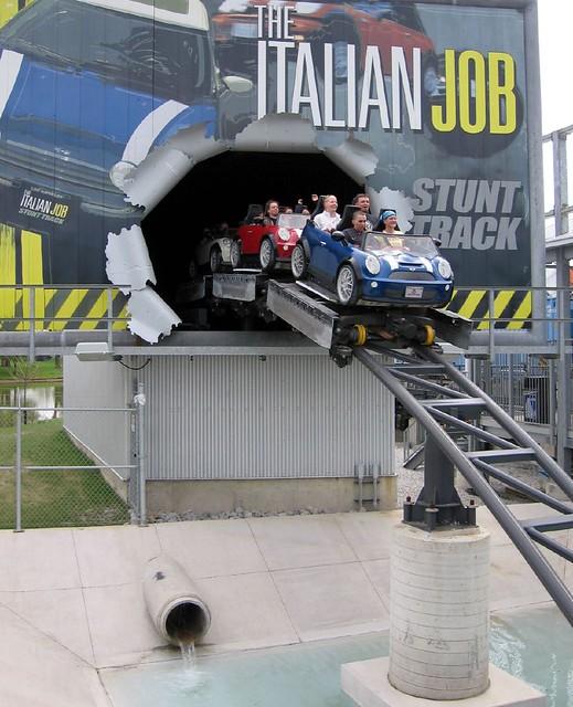 Italian job stunt track the italian job stunt track for Linear induction motor roller coaster