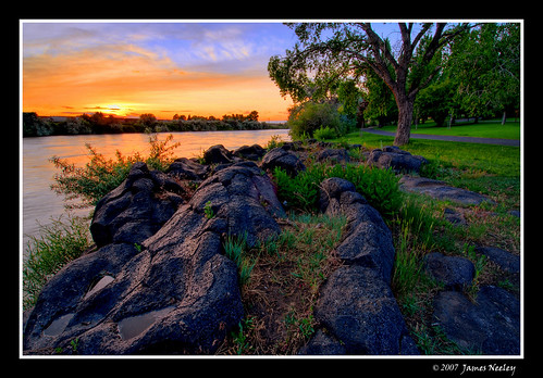 Evening along the River | by James Neeley