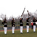 The Marine Corps Silent Drill Team