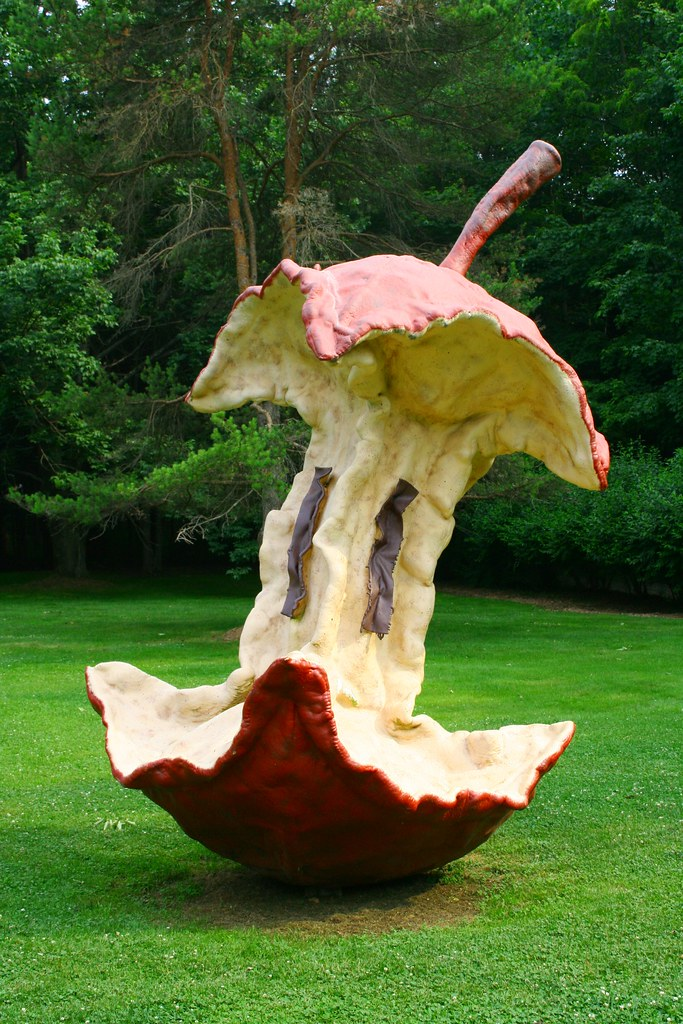 apple core kentuck knob is also known for its sculpture ga flickr. Black Bedroom Furniture Sets. Home Design Ideas