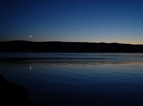 Moon in the gloaming | by colinjcampbell