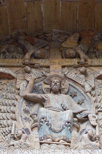 Detail from Tympanum at Conques | by Nick in exsilio