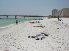 navarre beach, florida (2000) | here's a photo taken at