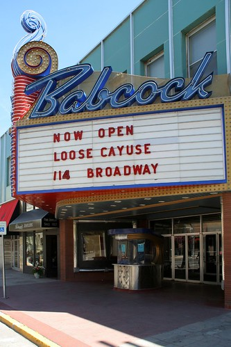 babcock theater billings | by Edwort
