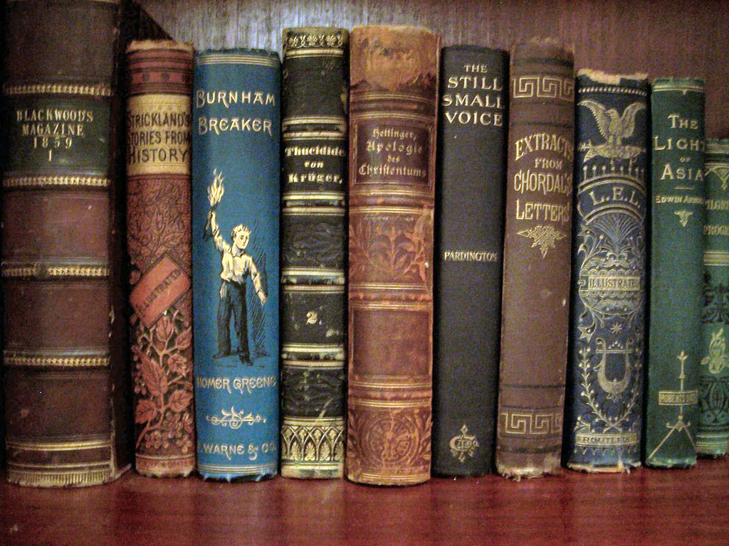 Old Books Row Of Old Books On My Bookcase Steve Santore Flickr - Old book case
