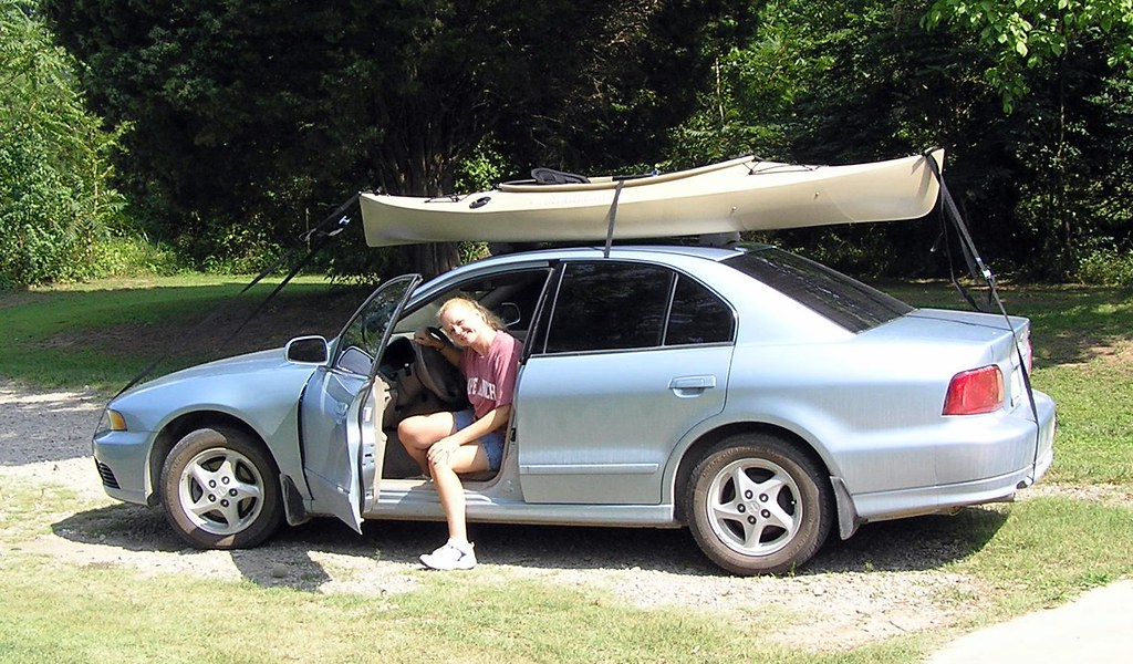 Foam Blocks Make The Kayak Galant Toppable Have Kayak