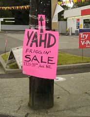 Seattle Yard Sale sign | by mindfulbreath