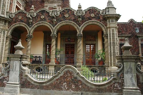 Rococo style stone house a rococo style architecture in s for Brick architecture styles
