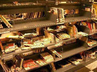 Messy Shelves Children S Section Central Lending
