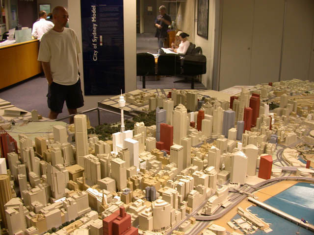 Pictures Of Toy Models Of Cities : City of sydney model an architectural scale the