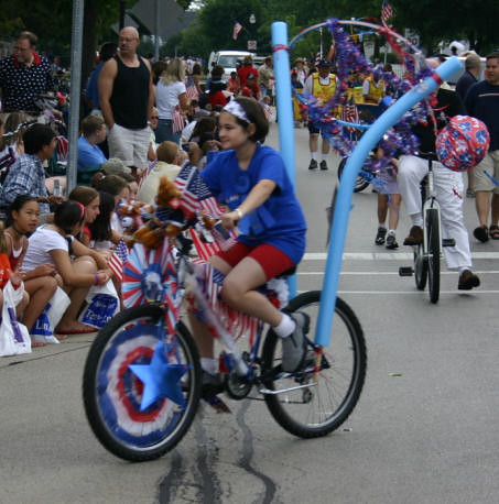 4th july parade bike decorating contest monday gordon for Bike decorating ideas