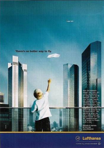 Lufthansa Ad 1 Publicity From Travel Magazine Brochure Flickr