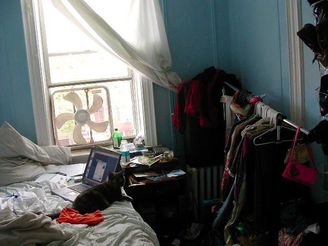 messy apartment bedroom dalas verdugo flickr. Black Bedroom Furniture Sets. Home Design Ideas