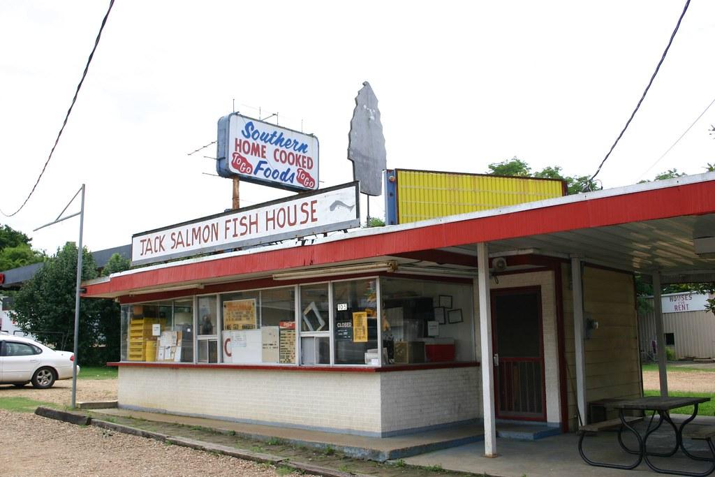 Jack salmon fish house starkville ms ginger flickr for Jack s fish house