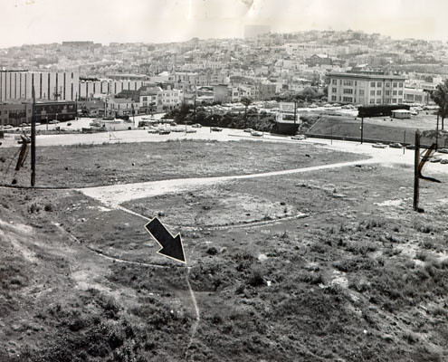 the ruins of seals stadium 1964 the former san