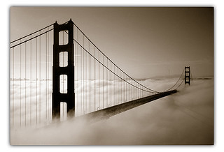 Golden Gate Bridge in Fog by Tristan Tom | http://tristantom.com | by *phototristan