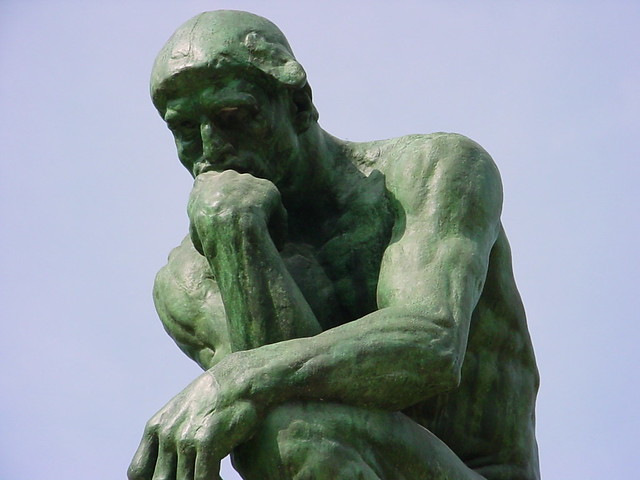 Image result for photos of the thinker