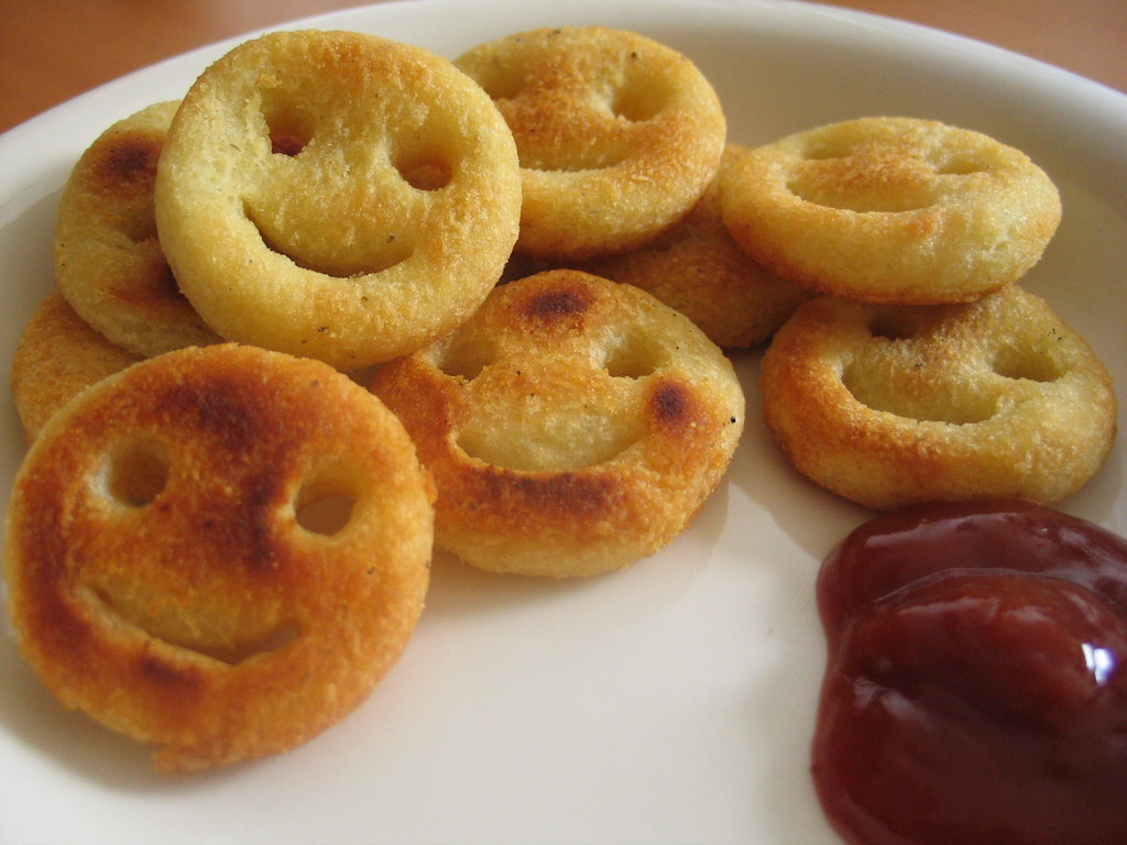 Smiley Potatoes When I Was Growing Up My Mom Never Let