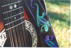 Guitar and guitar strap | by bulldog1