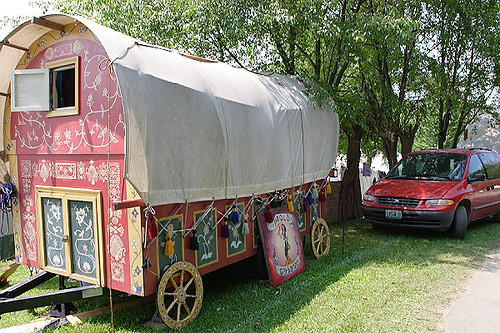 how to get the gypsy wagon