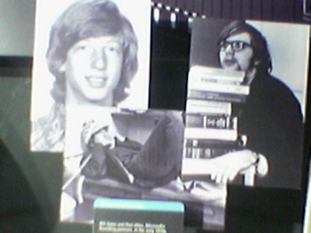 a young bill gates and paul allen
