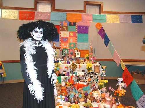 Sanchezs artistic vision was to incorporate La Calavera Catrina the icon for the Mexican Dia de los Muertos that represents a time to reconnect with deceased friends family members and ancestors in a festive spirit of remembrance and celebration with the cultural family values of Mexico