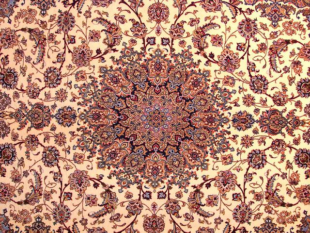 Mandala In Persian Carpets Persian Carpets In Progress