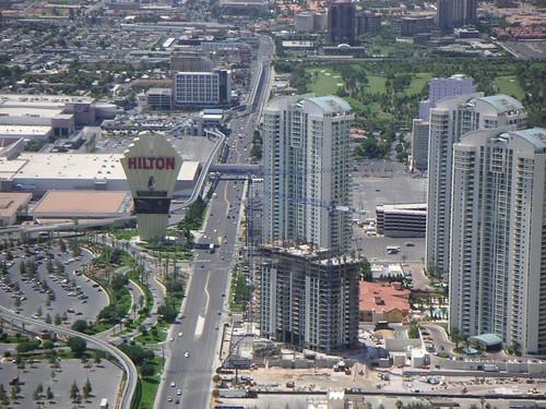 Vista Aérea Del Strip Las: Vistas Aereas De Las Vegas Desde La