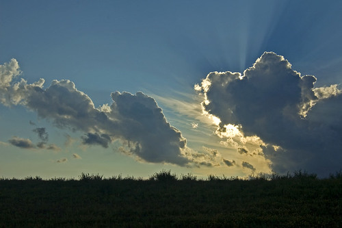 Moving clouds, peeking sun | by frippscratch