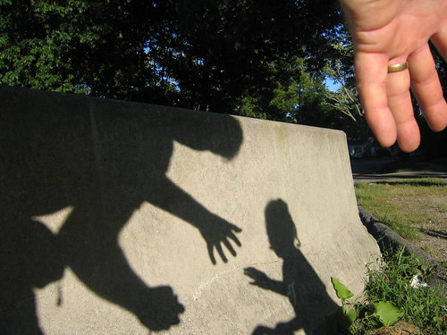 Hand with shadows, father & daughter | by Ctd 2005