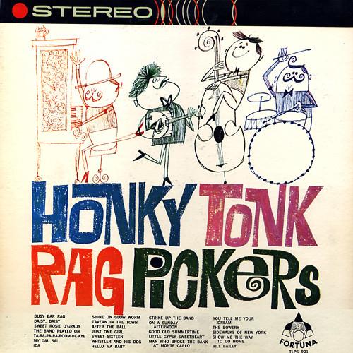 Honky Tonk Rag Pickers Cool Hand Lettering Artist