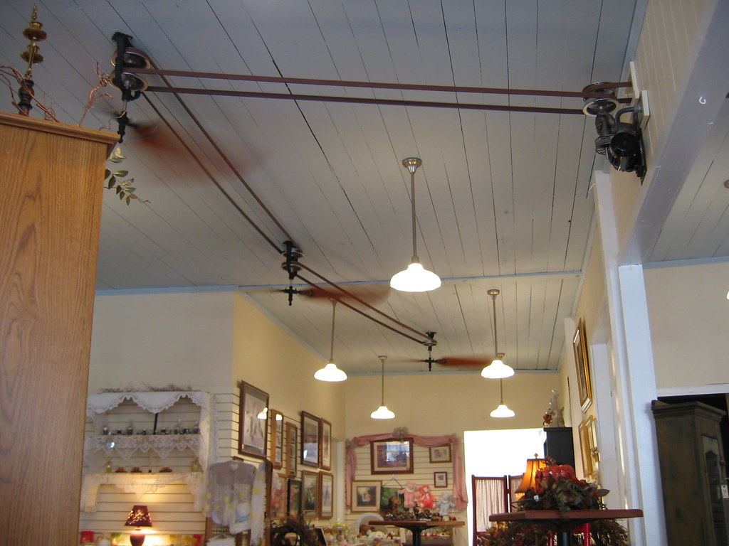 Ceiling Fans At Brewster Cafe These Were Neat A Modern