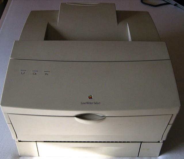 Vintage apple software discs (laserwriter select 360) w/windows.