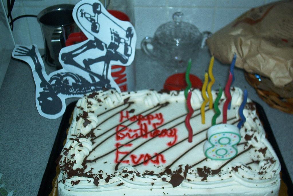 College Birthday Cake