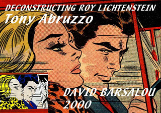 in the car deconstructing roy lichtenstein 2000 david ba flickr. Black Bedroom Furniture Sets. Home Design Ideas