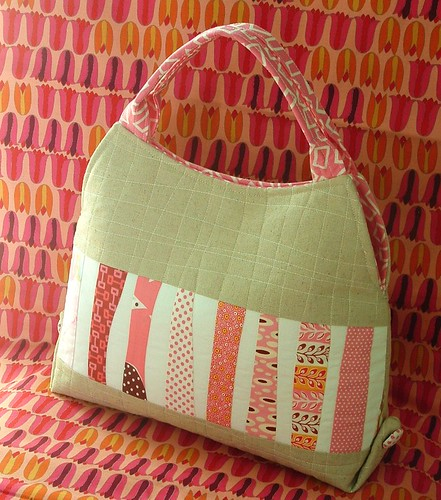 wavy patchwork purse | by pinklemonadeboutique