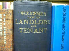 """Woodfall's Law of Landlord and Tenant"" 