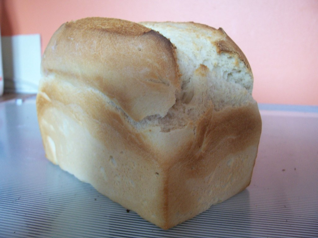 Homemade Split Tin Loaf The Past Weekend Was A Bit Of A