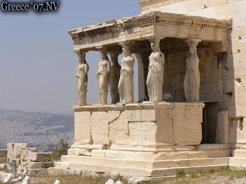 Karijatide copy | An ancient Greece. I was in ten days, it w ...