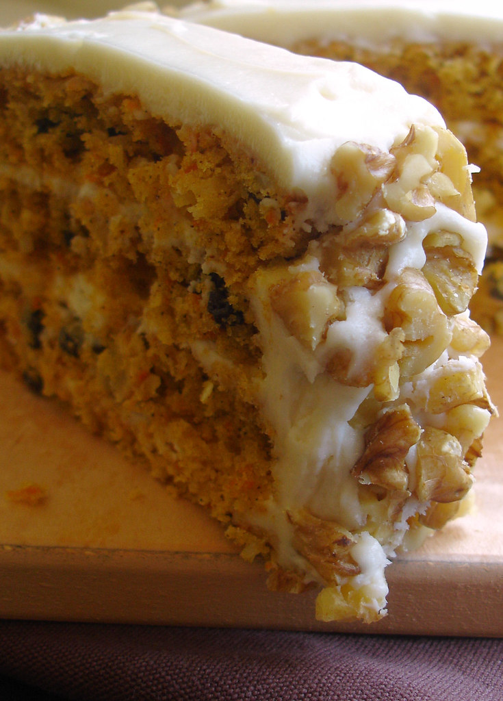 Carrot Cake With Raisains Jamaica