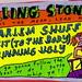 Rolling Stones Harlem Shuffle album sticker