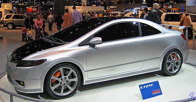 Honda Civic Si Concept 2005 Chicago Auto Show Flickr